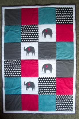 Max's Elephant Quilt
