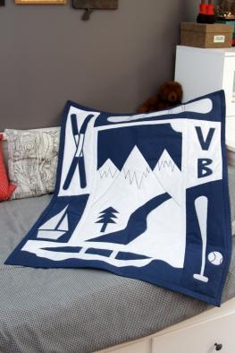 Hannah's Mountain Quilt