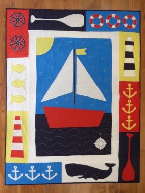 Jack's Nordic Sailing Quilt