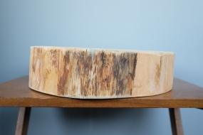 Hand sanded Cedar Cake Plate
