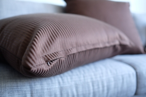 Hand made giant cushion covers, with hidden zip